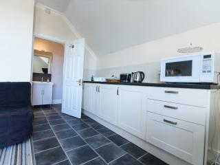 Kitchen and en-suite in studio 4