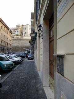 vista mura vaticane