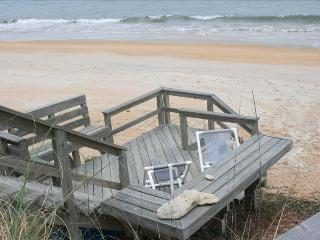 Private Beach Area Directly on the Ocean - 60 Feet, Flagler Beach