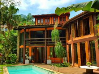 Design de madeira villa e Jardim Tropical, Rio de Janeiro