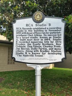 You are only steps away from the famous and historic RCA Studio B. (Photo by Trin Blakely.)