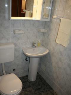SA2(2+2): bathroom with toilet