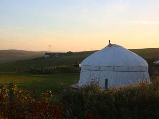Wheems Yurt, St. Margaret's Hope
