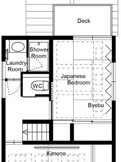 Gojozaka Machiya 2F - Floor Plan