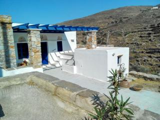 Traditional farm house in an authentic village, Tinos