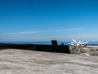 Meister Shelter fine interior design Villa, terrace with amazing seaview, near Pietrasanta, Monteggiori