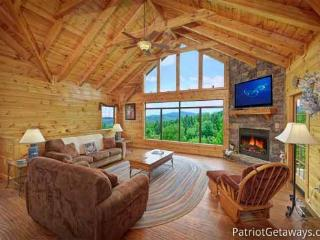 Living Room At Winter Wonderland