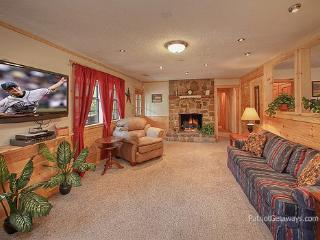 Living Room with Fireplace at Patriot Pointe