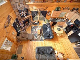 Living Room Overhead View at 2 Lovin' Bears