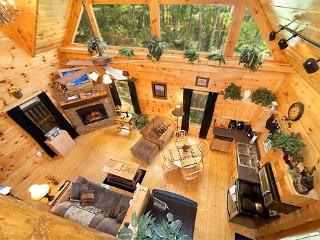 Living Room at Honey Bear Haven