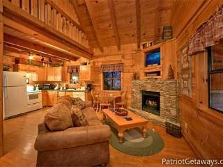 Living Room at Honeymoon In Gatlinburg