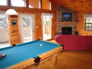 Pool Table at Bear Heaven
