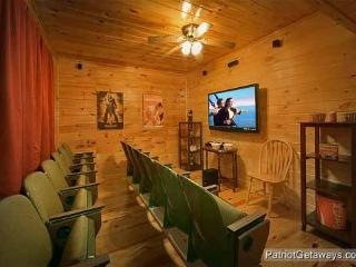 Theater Room at Hickernut Lodge
