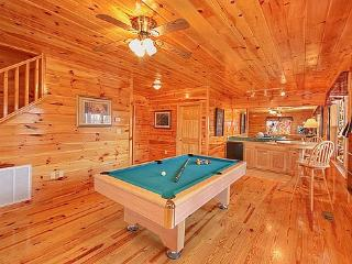 First Floor Game Room at Hickernut Lodge
