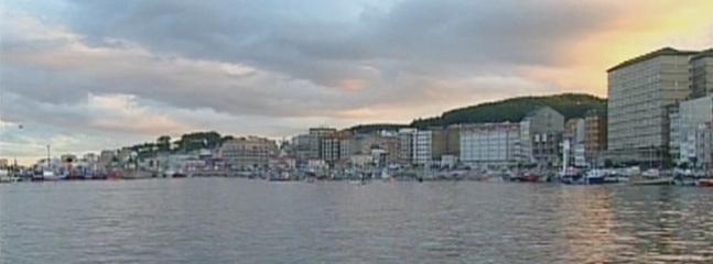Vista zona marítima de Ribeira