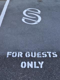 Detail - Parking spot