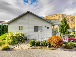 Homey and comfortable with lovely Columbia River views, Orondo