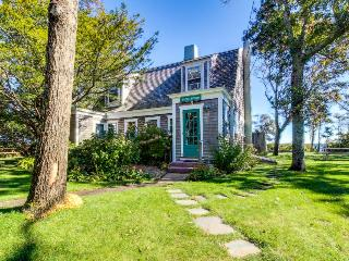 Dog-friendly home w/ lovely views, a huge yard & a private beach on the Sound!, Vineyard Haven