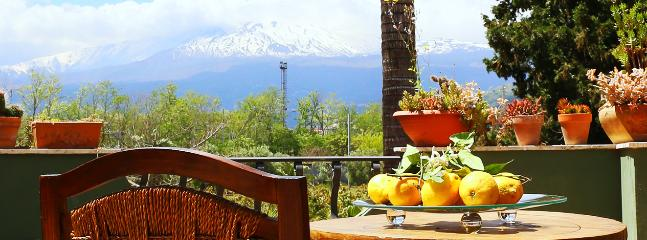 Terrace Etna Mount view