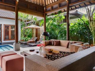3. Lakshmi Villas - Kawi - Living area view to pool