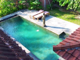 Family 2 bedroom Country Home near Ubud- WIFI, Pool, Kitchen, Marble Bathroom