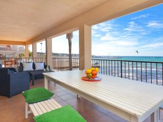 Beautiful apartment 1 st line beach, Playa de Palma
