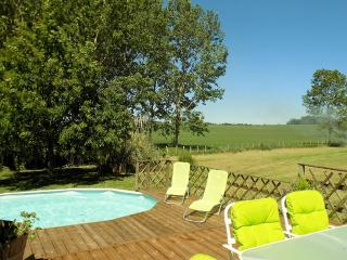 Beautiful holiday villa set in sunflower fields, Saint-Jean-de-Duras