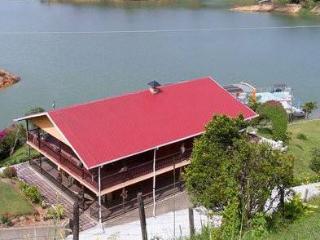 lake front villa