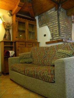 Particolare area soggiorno / living room