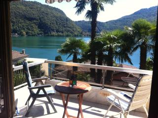 Lakeview, 3 Bedroom, 1.5 bath, 4.5 room. Sleeps 5 in Ponte Tresa, (Nr Caslano
