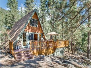 Romantic and cozy cabin set among the towering pines!, Truckee