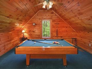 Lofted Game Room with Pool Table at Sunshine Day Dream