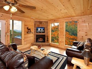 Living Room at A Perfect Getaway