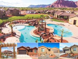 Poolside Retreat, Arches, Red Mtn Retreat, Canyonlands, Rented Together at Paradise Village, St. George