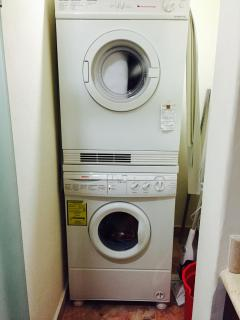 Comes with Washer and Dryer.