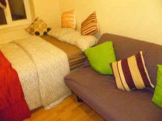 LONDON MEAD 1 BED FLAT, SLEEPS 2-8, CLOSE TO CITY.