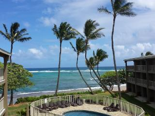 Kauai Oceanfront 3 Bedroom Condo - LOADED !!, Kapaa