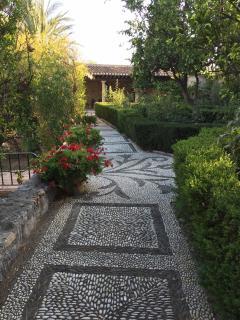 small Alhambra garden