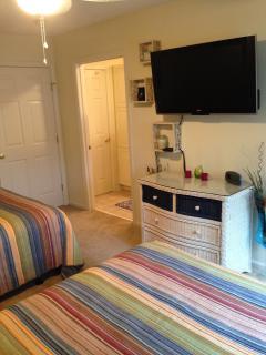 Flat screen Tv- bedroom 2
