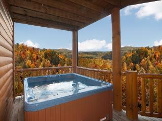 Hot Tub at Lookout Lodge