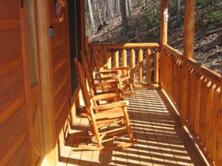 Front Porch at Hero's Hideaway