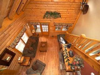 Living Room at Hibernation Hideaway #745