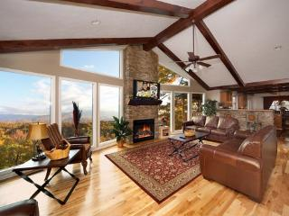 Living Room with Fireplace at Perfection!