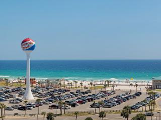 "Gulf View Condo best ""Blue Angels"" & July 4th view  on Pensacola Beach!"