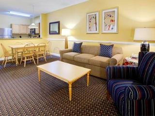 2 bedroom suite at Harbour Ligths Resort, Myrtle Beach