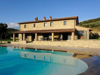 Beautiful Large Villa on Tuscany-Umbria Border Overlooking Vineyards - Villa
