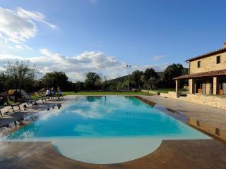 Beautiful Large Villa on Tuscany-Umbria Border Overlooking Vineyards - Villa