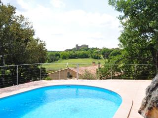 Villa in Provence with Castle Views - Villa la Capelle, Pouzilhac