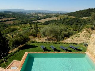 Large Luxury Villa Rental in the Chianti with Spectacular Views - Villa Liona, Barberino Val d'Elsa