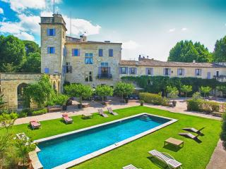 Castle with the South of France with Two Pools, Gym and Tennis Court - Chateau Lorraine, La Grande Motte